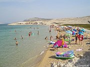 Beaches on the island of Pag